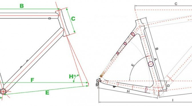Choosing the correct size road bike – Geometry Explained